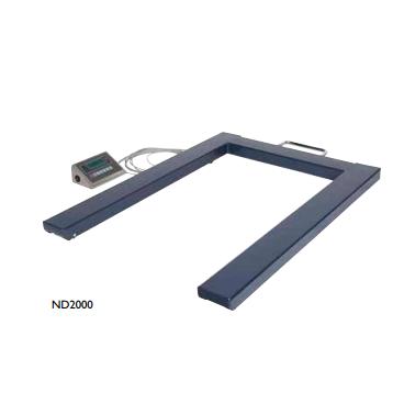 U-Vægt til vejning af paller