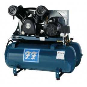 830/90 FF stempelkompressor med ekstra tank
