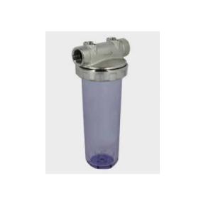 Vandfilter hus Messing/plastik