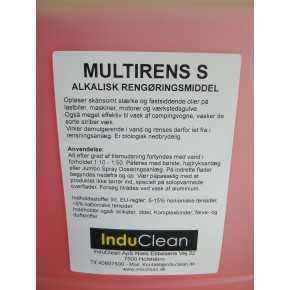 Multirens S - Stærk alkalisk