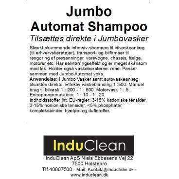 Jumbo autoshampoo