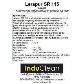 Lerapur SR115 Til protein og fedt