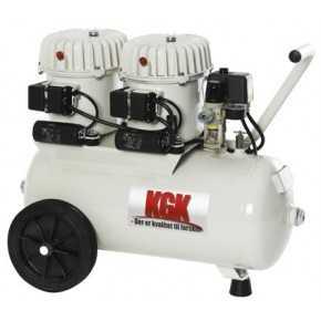 Lydsvag kompressor 50 Liter KGK
