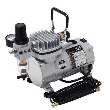 Lille støjsvag kompressor 20 liter