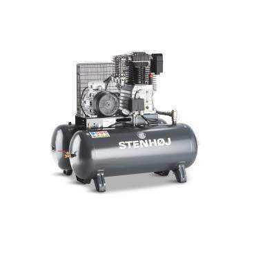 Kompressor 2 x 90 liter oliesmurt