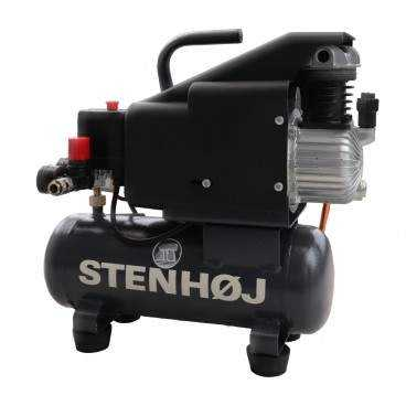 Kompressor 6 liter oliesmurt