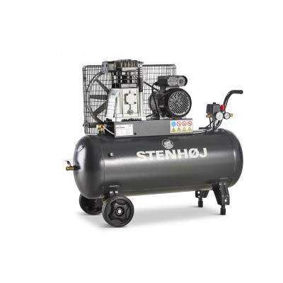 Kompressor 90 liter oliesmurt