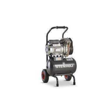 Kompressor 20 liter oliefri sækkevogn
