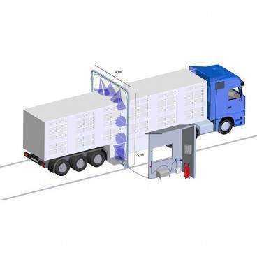 Desinfektions system til køretøjer (IDA)