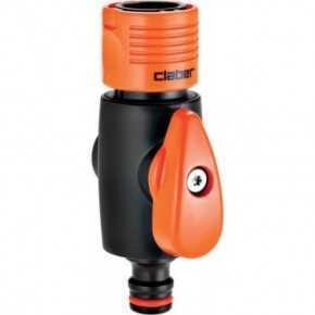 Claber kobling/nippel med lukkeventil