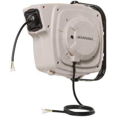 Aut. kabelopruller IP44 3 x 1,5mm² x 14m PVC kabel m/Schuko stik