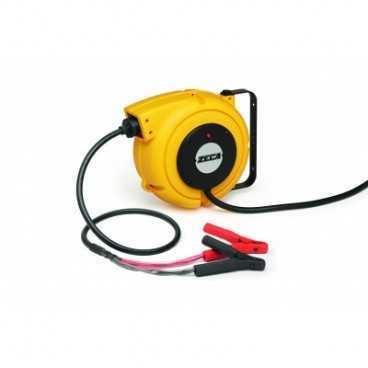 Aut. kabelopruller IP42 2 x 9mm2 x 5m m/batteriklemmer