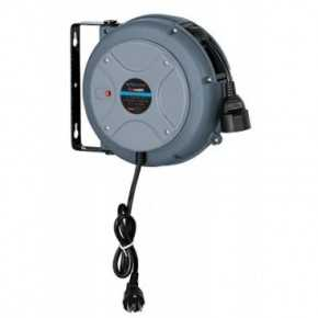 Aut. kabelopruller MINI IP42 3 x 1,5mm² x 10m danske stik
