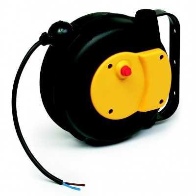 Aut. kabelopruller IP42 3 x 1,5mm2 x 5m H05VV-F