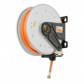 Aut. hose reel for LPG - Methane 20 bar 8/15mm x 8m NBR/PVC hose