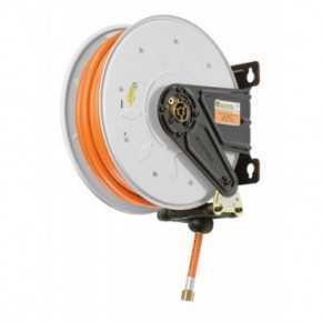 Aut. hose reel for LPG - Methane 20 bar 10/17mm x 10m NBR/PVC hose