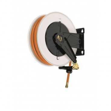 "Aut. hose reel for LPG - Methane 20 bar 3/8"" x 12m NBR/PVC hose"