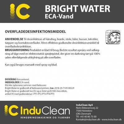 Desinfektion - Bright Water - GODKENDT