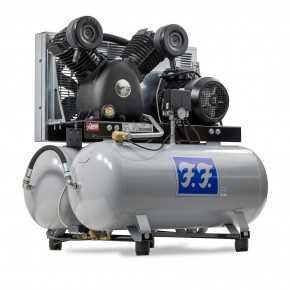 FF 710/90+90 stempelkompressor med ekstra tank