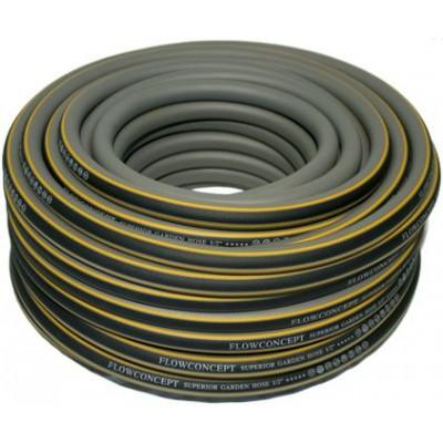 "vandslange grå/orange 3/4"" rulle á 50m max.8 bar -35°C- +65°C"