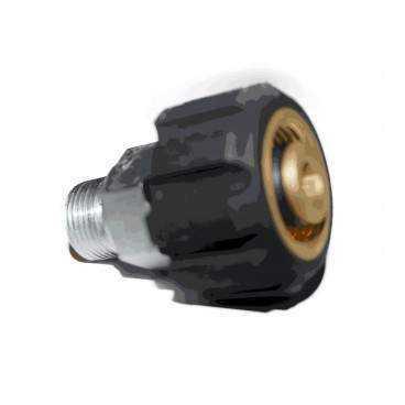 M22 skruekobling højtryk udv 3/8''