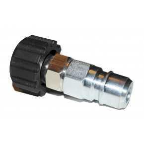 Nippel lynkobling med M22 skruekobling